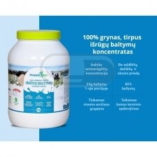"100 % GRYNAS, TIRPUS IŠRŪGŲ BALTYMO KONCENTRATAS ""PROTEIN INN"" 1kg"