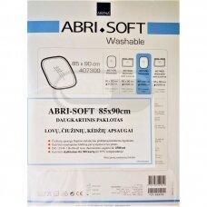 ABRI-SOFT daugkartiniai skalbiami paklotai (poliuretanas, poliesteris, viskozė) su atvartais 85x90 cm
