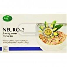 ACORUS NEURO-2, 1,5 g , žolelių arbata, 20 vnt.