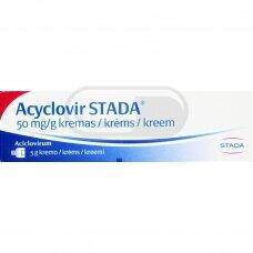 Acyclovir STADA 50 mg/g kremas