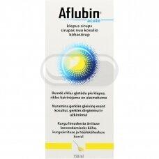 Aflubin Acute sirupas nuo kosulio 150ml
