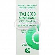 ALPINO MENTOLATO, talko milteliai nuo prakaitavimo, niežulio, sugeria prakaitą, dezodoruoja, 100 g