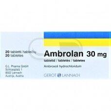 Ambrolan 30 mg tabletės N20