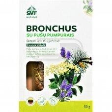 ARBATA SU PUŠŲ PUMPURAIS BRONCHUS, 50G