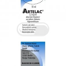 ARTELAC 3,2 mg/ml akių lašai (tirpalas)