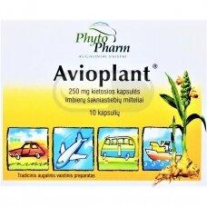 Avioplant 250 mg kietosios kapsulės N10
