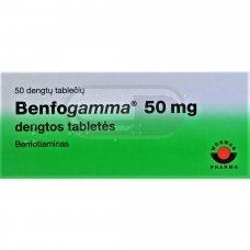 Benfogamma 50 mg dengtos tabletės N50