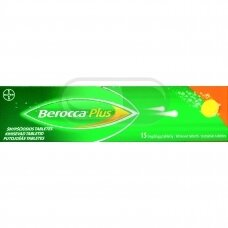 Berocca Plus šnypščiosios tabletės N15