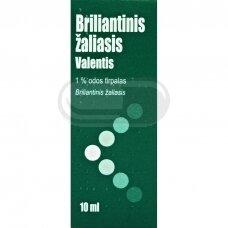 Briliantinis žaliasis Valentis 10ml N1
