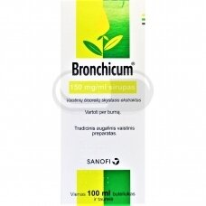 Bronchicum 150 mg/ml sirupas