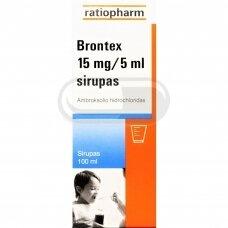 Brontex 15 mg/5 ml sirupas