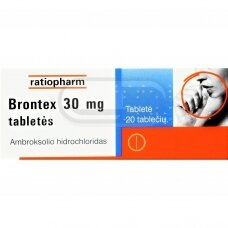 Brontex 30 mg tabletės N20