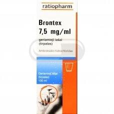Brontex 7,5 mg/ml geriamieji lašai (tirpalas)