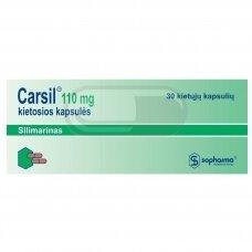 CARSIL 110mg kietosios kapsulės N30