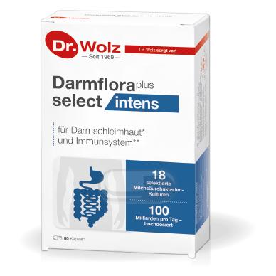 Darmflora plus select intens Dr. Wolz N80