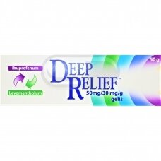 Deep Relief 50 mg/ 30 mg/ g gelis