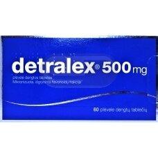 Detralex 500 mg plėvele dengtos tabletės N60
