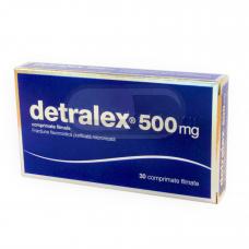 Detralex 500mg plėvele dengtos tabletės N30 (LI)