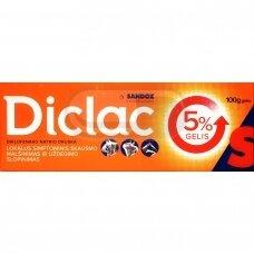 Diclac 5 % gelis-100 g