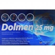 Dolmen 25 mg granulės geriamajam tirpalui N10
