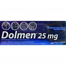Dolmen 25 mg plėvele dengtos tabletės N10