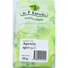 DR. P. KARVELIS APYNIŲ SPURGAI, žolelių arbata, 50 g