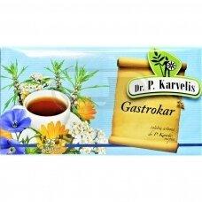 DR. P. KARVELIS GASTROKAR, žolelių arbata, 1 g, 25 vnt.
