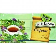 DR. P. KARVELIS GRIPOKAR, žolelių arbata, 50 g