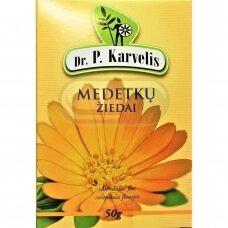 DR. P. KARVELIS MEDETKŲ ŽIEDAI, žolelių arbata, 50 g