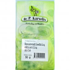 DR. P. KARVELIS EŽIUOLIŲ ŽOLĖ, žolelių arbata, 50 g