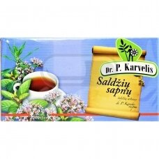 DR. P. KARVELIS SALDŽIŲ SAPNŲ, žolelių arbata, 1 g, 25 vnt.