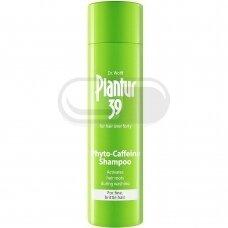 DR. WOLFF PLANTUR 39, šampūnas su kofeinu nuo plaukų slinkimo, 250 ml