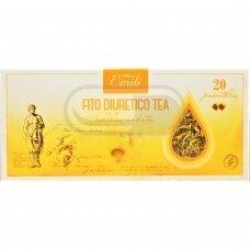 EMILI FITO DIURETICO, žolelių arbata, 1,5 g, 20 vnt.