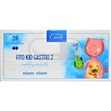 EMILI FITO KID GASTRO 2, žolelių arbata, 1,5 g, 20 vnt.