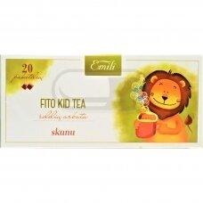 EMILI FITO KID TEA, žolelių arbata, 1,5 g, 20 vnt.