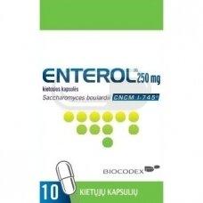 Enterol 250 mg kietosios kapsulės N10