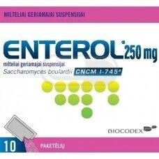 Enterol 250 mg milteliai geriamajai suspensijai N10
