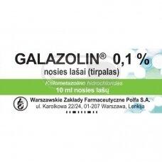 GALAZOLIN 0,1 % nosies lašai (tirpalas)