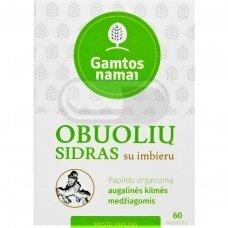 GAMTOS NAMAI OBUOLIŲ SIDRAS SU IMBIERU N60