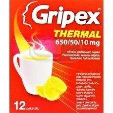 GripexThermal 300/20/5 mg milteliai geriamajam tirpalui N12
