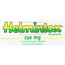 Helmintox 250 mg plėvele dengtos tabletės N3