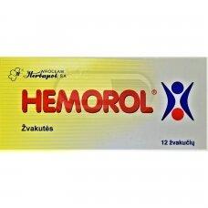 HEMOROL žvakutės N12