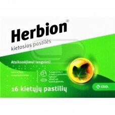 Herbion kietosios pastilės N16