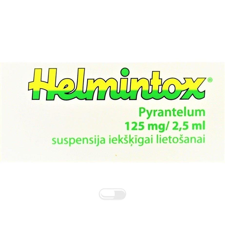 kaip működik helmintox)