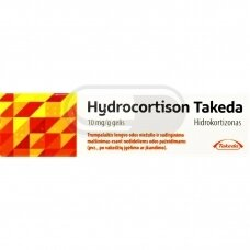 Hydrocortison Takeda 10 mg/g gelis