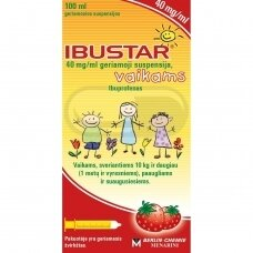 Ibustar 40 mg/ml geriamoji suspensija, vaikams