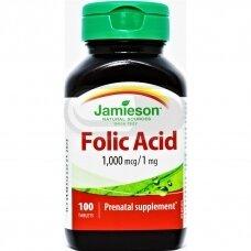 JAMIESON FOLIO RŪGŠTIS, 1 mg N100