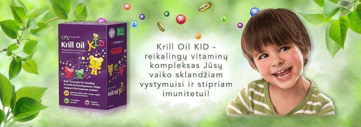 LYL Krill Oil Guminukai su Omega3 ir Vitaminais N30
