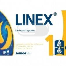 LINEX kietosios kapsulės N16