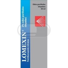 LOMEXIN 2% odos purškalas (tirpalas) 30ml